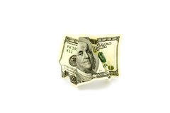 Money. On a white background Stock Images