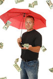 In the money Stock Photography