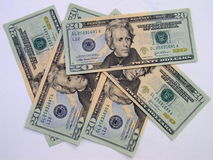 Money. Paper money in us dollar Stock Photos