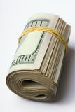 Money. Close-up of a $100 banknotes Royalty Free Stock Images