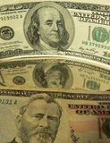 Money. American 10 and 50 dollars concept Stock Photography