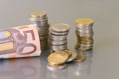 Money. Is all around us Stock Image
