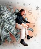 Winner of Money stock photo