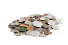 Money. Old money, isolated on white Stock Photo