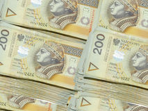 Money 200 PLN Stock Photography