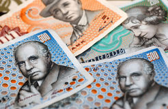Money. A few danish crown notes Royalty Free Stock Photography