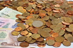 Money. Index of business finance Royalty Free Stock Photos