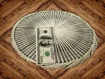 Money. Big pile of money. stack of american dollars Stock Photos