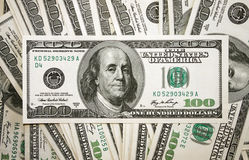 Money. Background from dollars usa Royalty Free Stock Photo