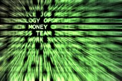 Money!. Money word shown in a business words mix background Royalty Free Stock Images