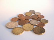 Money. Euro coins royalty free stock photos