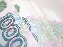 Money. Pack of Russian thousand denominations Stock Photography