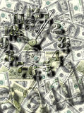 Money. Background possible to use for printing and project Royalty Free Stock Photography