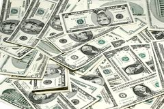 Money. Dollar bills Royalty Free Stock Photo
