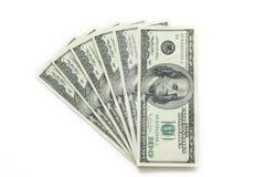 Money. 100 US dollars stock photos
