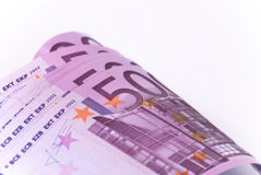 Money. Paper money, five hundred banknote euro Stock Photos