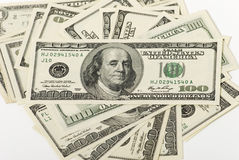 Money. Lot of paper money dollar banknote Stock Photos