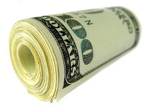 Money. US money - 100 US dollar banknote royalty free stock images