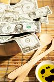 MONEY. Food Royalty Free Stock Photos