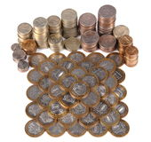 Money. Ruble, currency, finances, coin, cash, capital, bank, -box, collecting Stock Photos