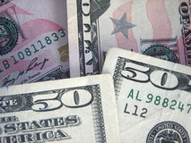 Money. US money - 50 US dollar banknote Stock Photos