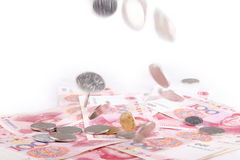 Money. China to issue some of the money Royalty Free Stock Images