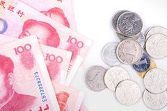 Money. China to issue some of the money Royalty Free Stock Photos