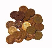 Money. Pile of Coins Royalty Free Stock Photography