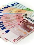 Money. Euro money Stock Photography
