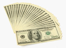 Money. Big pile of money. stack of american dollars Stock Photography