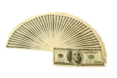 Money. Big pile of money. stack of american dollars Stock Photo