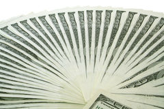 Money. Big pile of money. stack of american dollars Stock Image