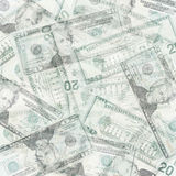 Money abstract background Royalty Free Stock Photos