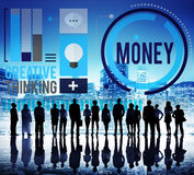 Money Accounting Banking Economy Exchange Wealth Concept Royalty Free Stock Photo