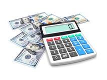 Money accounting Royalty Free Stock Photos