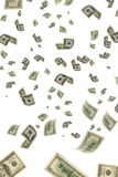 Money in the air. Royalty Free Stock Images