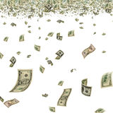 Money in the air. Royalty Free Stock Image