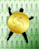 Money Allegory 1 Royalty Free Stock Image