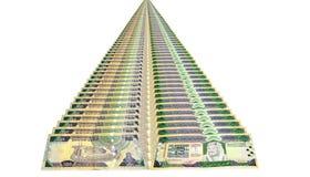 Money along the way Royalty Free Stock Photo