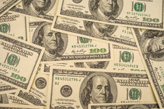 Money american. Background with money american hundred dollar bills Royalty Free Stock Photo