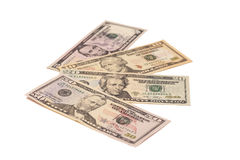 Money American dollar bills Royalty Free Stock Images