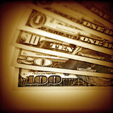 The money American dollars stock photography
