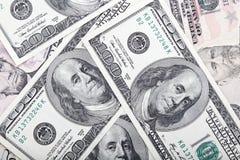 Money american dollars bills. Stock Image