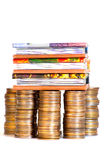 Money And Books Stock Image