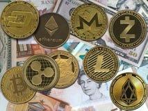 Free Money And Crypto Royalty Free Stock Photos - 216802268