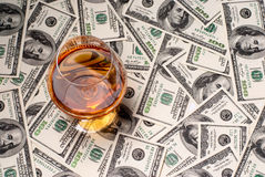 Free Money And Drinks Royalty Free Stock Photos - 30352568