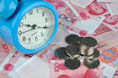 Free Money And Time Royalty Free Stock Image - 14271036