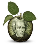 Money Apple Stock Photography