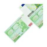 Money arrow Royalty Free Stock Photography