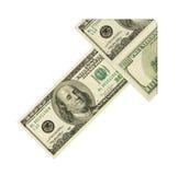 Money arrow Royalty Free Stock Photo